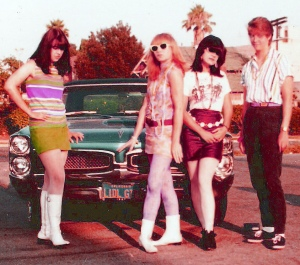 The Pandoras in front of a GTO
